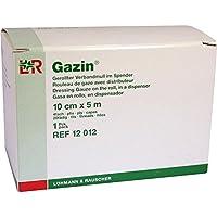 GAZIN Verbandmull 10 cmx5 m 4fach gerollt 1 St Kompressen preisvergleich bei billige-tabletten.eu