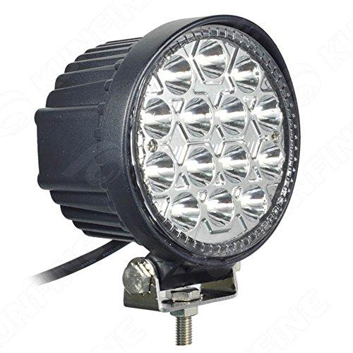 Ampoule LED pour voiture Lumière, minkoll Projecteur de lumière Jet de lumière, Wei ? E 42 W LED GL ¨ ¹ hlampen, la lampe DC 10-30 V F ¨ ¹ R non F ¨ ¹ R den Stra ? enverkehr Bottes de voiture pour camion SUV UTV ATV 4 WD Cyclisme