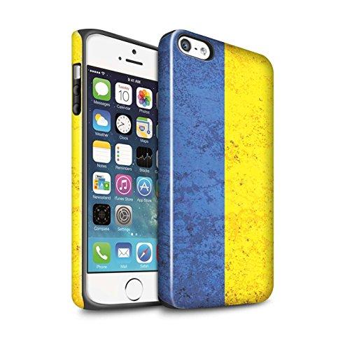Coque Brillant Robuste Antichoc de STUFF4 / Coque pour Apple iPhone 6 / Russie Design / Drapeau Collection Ukraine/Ukrainien