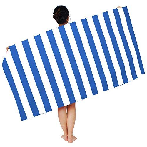 ChicSoleil Mikrofaser Badetuch 170x90cm Bademantel Duschtuch Waschlappen Handtuch Strandtuch Saunatuch für Damen Herren 1 Stück (Damen Bademantel Handtuch)