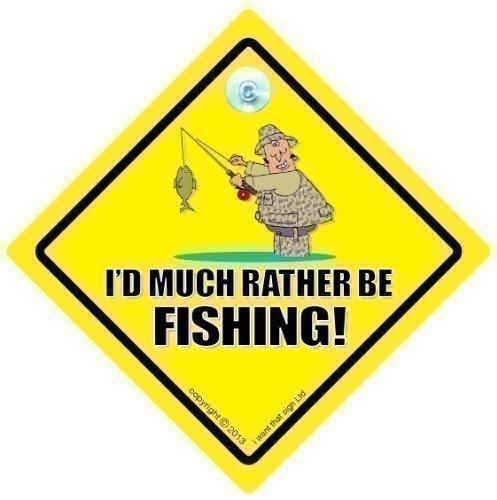 I D Rather Be Pêche Sign, I D Rather Be Pêche Panneau de voiture, panneau de voiture, autocollant, Baby on Board, conduite Signe, panneau de voiture, panneau de véhicule, Joke de voiture Signbaby on Board, autocollant, pêcheur Sign, I love Pêche, autocollant, Baby on Board, panneau de la pêche, la pêche Signe, pêche à la mouche, pêche en mer, pêcheur Sign