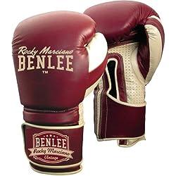 Benlee Rocky Marciano, Graziano, Gants de boxe Rouge Vin rouge 14