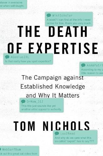 Pdf download the death of expertise the campaign against pdf download the death of expertise the campaign against established knowledge and why it matters by tom nichols full pages yamanaka book store 384 fandeluxe Gallery