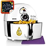 Duronic AF1 /W Healthy Oil Free 1500W Air Fryer Multicooker - White - free recipe book - 2 Years Warranty included
