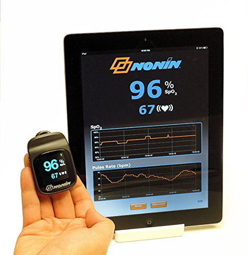 Nonin Elite 3240Connect Bluetooth Pulsoximeter für Finger -