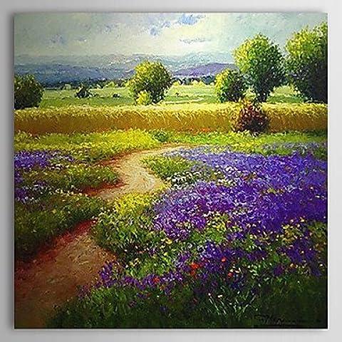 Dipinti a mano olio pittura di paesaggio