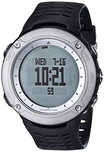 Momentum - 1M-SP46B1B - Montre Mixte - Quartz Digitale - Altimètre/Alarme/Luminescent - Bracelet Plastique Noir