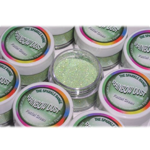 Rainbow Dust Sparkle Range - Jewel Pastel Baby Green by Classikool® by Classikool (Jewel Sparkles Baby)