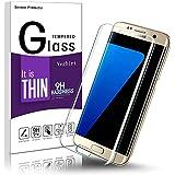 Galaxy S7 Edge Pellicola Protettiva, Vetro Temperato Galaxy S7 Edge, Vegbirt Vetro Temperato Screen Protector Film Ultra Resistente per Samsung Galaxy S7 Edge