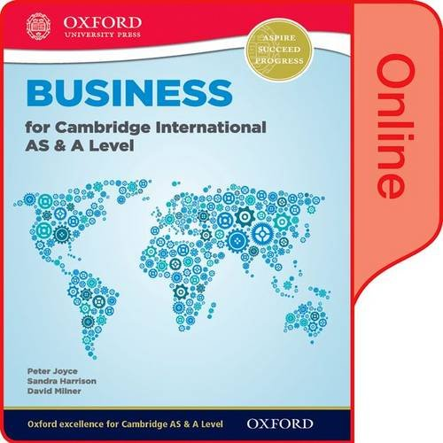 Business for Cambridge International AS & A Level Online Student Book (Cie a Level)