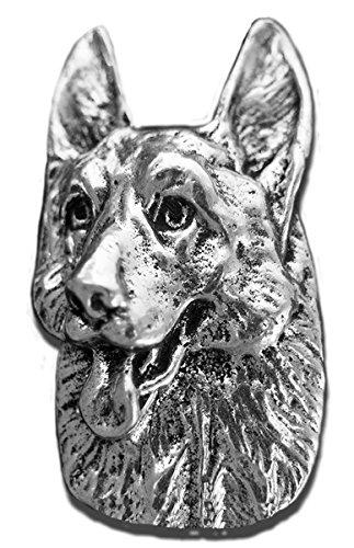 Precious Rassen klein im antiken Zinn Deutscher Schäferhund Magnet (Rassen Deutscher Schäferhund)