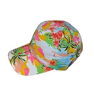 Cool-hawaiano-impresin-Base-Ball-Cap-blanco
