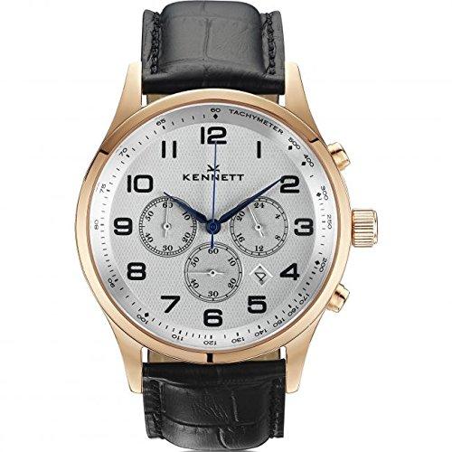 Mens Kennett Savro Modern Chronograph Watch SVRGWHBLMD
