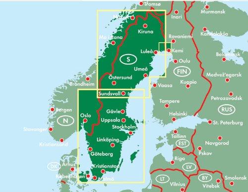 Schweden, Autokarte 1:600.000, freytag & berndt Auto + Freizeitkarten: Alle Infos bei Amazon