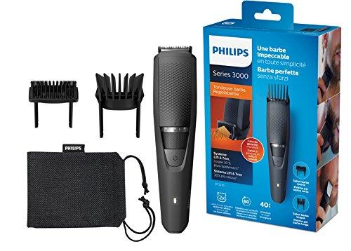 Philips Bartschneider Series 3000 BT3236/14, 40 Längeneinstellungen, 3-Tage-Bart einfach gemacht