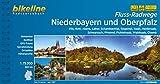 Flussradwege Niederbayern und Oberpfalz: Vils, Rott, Abens, Laber, Schambachtal, Regental, Naab, Haidenaab, Schwarzach, Pfreimd, Fichtelnaab, ... 1:75.000, 900 km (Bikeline Radtourenbücher) -