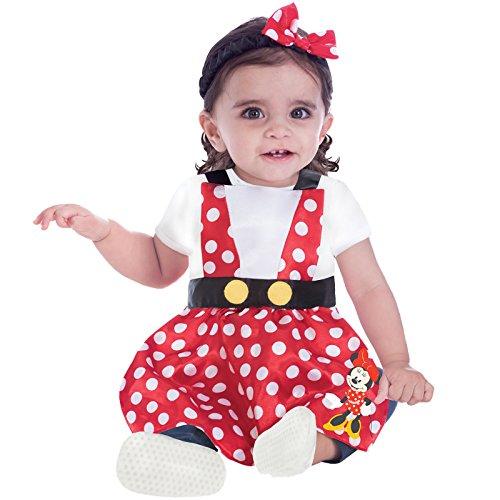 Toy Story Baby Kostüm - Amscan Dress Up DCMINPIN03-12 Kostüm, Unisex Children, 3-12 Monate