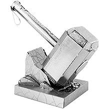 Fascinaciones MMS320 - la tierra del metal, Martillo de Thor: Mjolnir, juguetes de construcción