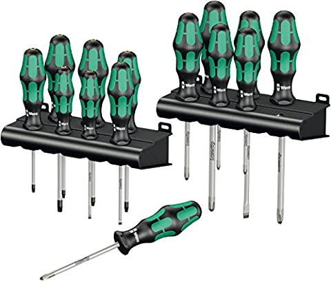 Wera Big Pack 300 / 05105630001 Jeu complet de tournevis