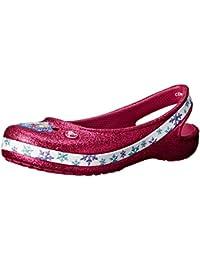 crocs Girl's Genna Ii Frozen Ballet Flats