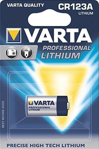 """Cr123a 123 (Varta Professional Electronics Batterie """"CR 123 A"""" 6205 VARTA PHOTOZELLE CR123A 06205301401-427165)"""