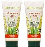 Best Los geles de Aloe Vera - Aloe Pura, Organic Aloe Vera Gel, paquete 2 Review