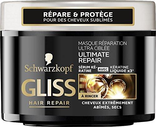 Schwarzkopf - Gliss - Masque Rparation Ultra-Cible Ultimate Repair - Pot 200 ml - Lot de2