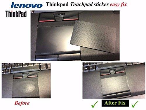 Bucom Touchpad Sticker Aufkleber Folie für IBM Lenovo Thinkpad T410 T420 T430 T510 T530 W510 W520 W530 L410 - Thinkpad-touchpad