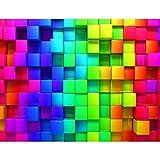 Fototapeten Abstrakt 3D - Vlies Wand Tapete Wohnzimmer Schlafzimmer Büro Flur Dekoration Wandbilder XXL Moderne Wanddeko - 100% MADE IN GERMANY - 9078010a