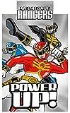 Power Rangers 135 x 200 cm 50 Percent Cotton/ 50 Percent Polyester Single Duvet Cover Set, Multi-Colour