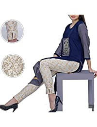 oneOeightdesigns Latest Designs NET Cigarette Pant for Women/Girls