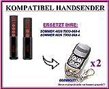 2 X SOMMER 4020, SOMMER 4026 kompatibel handsender, ersatz fernbedienung, 868.8Mhz rolling code. Top Qualität ersatzgerät!!! 2 Stücke für den besten Preis!!!