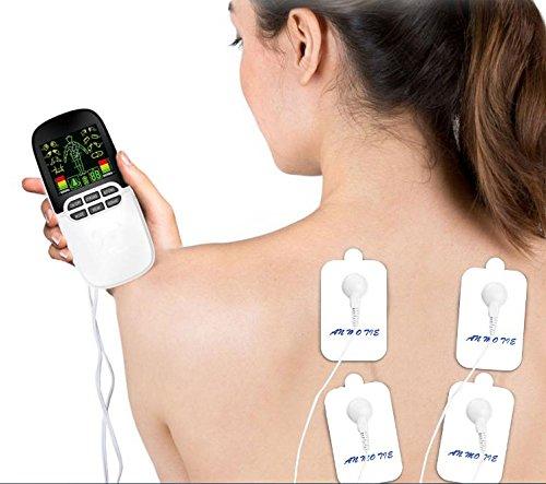 iFanze Professionale Elettrostimolatore Muscolare, Elettrostimolatore Tens per Ridurre Dolore in Schiena, Collo,...