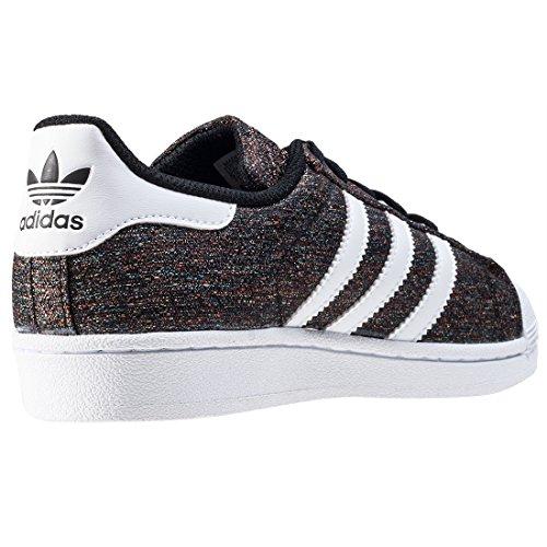 """Kinder Sneakers """"Superstar J"""" Schwarz"""
