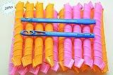 Shentian 24pz Bigodini Morbidi Flessibili Arriccia Capelli Crea Boccoli Bigodini Ricci Acconciatura(50CM)