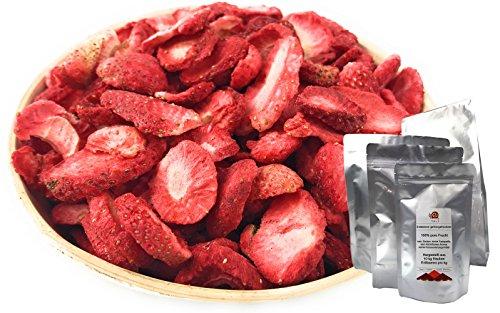 TALI Erdbeeren gefriergetrocknet, Scheiben 50 g