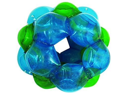 LEXIBOOK Bola Gigante Hinchable, Juego Exterior, sporta hasta 68kg (BG100), Color Azul/Verde
