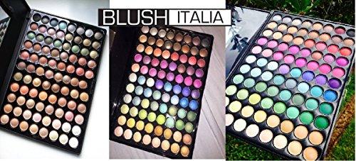 Blush Italie Make Up 3 x 264 Paupières/eyeshadow Palette Shimmer Matt Nude Colors