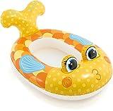 Warenhandel König Kinderboot Boot Gummiboot Schlauchboot für Pool Schwimmbad Pool Cruiser (Fisch Gelb)