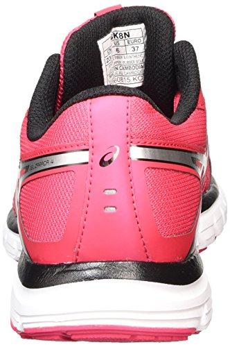 Asics Gel-zaraca 4, Chaussures de Running Compétition femme Rose (azalea/silver/black 2193)