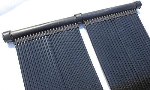 SPIRATO PD-01116 - Riscaldamento Solare per Piscina, 6 m, Nero