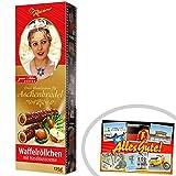 Waffelröllchen Aschenbrödel Rotstern ++ DDR Traditionsprodukt und Ossi Kultprodukt