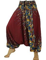 Afghani Hose Haremshose Pluderhose Pumphose Haremshose Aladinhose / Pluderhosen und Aladinhosen