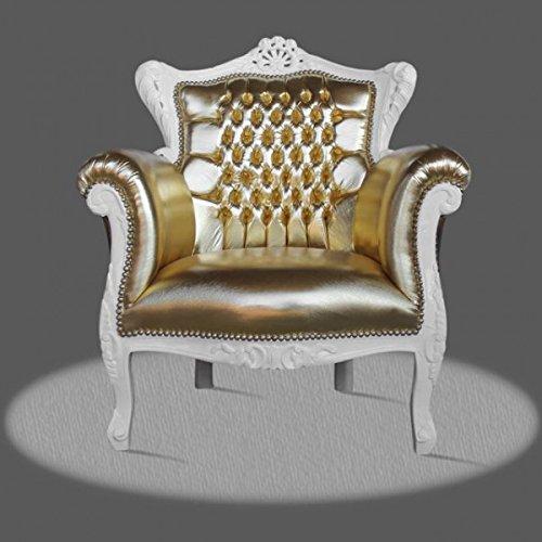 LouisXV Sillón barroco fauteuille estilo antiguo rococó AlCh0501WeSkGo