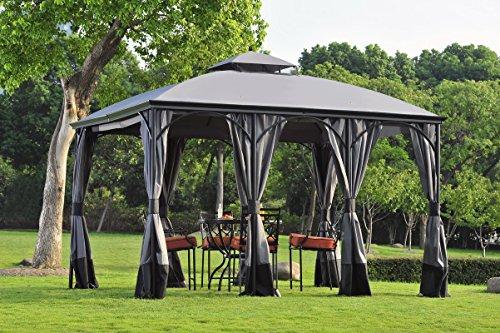 sunjoy 110109128Somerset Pavillon Vorhang Ersatz (Somerset Outdoor-möbel)