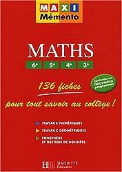 Maths 6e/5e/4e/3e