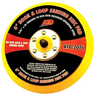 ATD Tools 20766Quick Change Sanding Disc Pad by ATD Tools