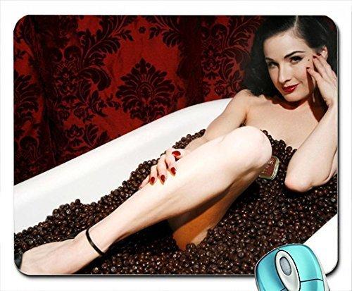 legs-women-dita-von-teese-coffee-bathing-bathtubs-nude-altoids-mouse-pad-computer-mousepad