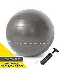 Pelota de Ejercicios Premium Fitness Anti Burst 65 cm, Bomba Incluida, Fitness, Equilibrio, Yoga