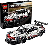LEGO 42096 Technic Porsche 911 RSR Race Car Advanced Building Set, Exclusive Collectible Model, Standard